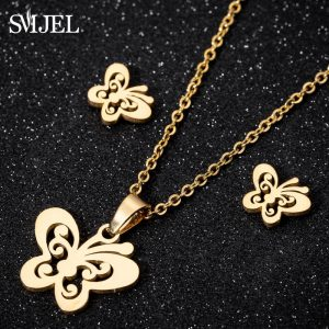 Mickey Necklace Women Jewelry Sets