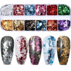 Glitter Powder Nail Flakes Manicure Nail