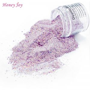 Shine Glitter Hexagon Sequins Powder Nails