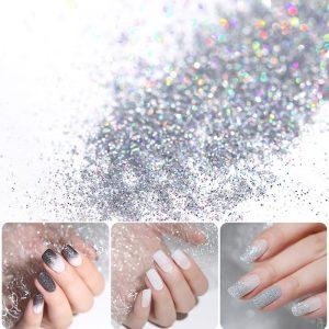 Shiny Nail Glitter Laser Sparkly Manicure Nail Art