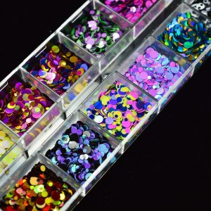 3D Ultra Thin Sequins Nail Glitter