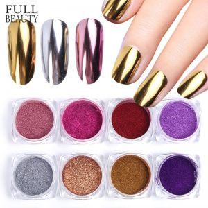 Mirror Nail Art Glitter Powder Dust Sequins
