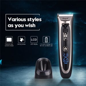 Professional Digital Hair Trimmer Rechargeable