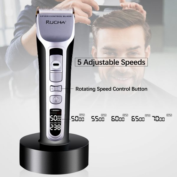Rechargeable Hair Trimmer Hair Cutting Machine
