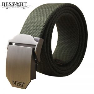 Unisex Tactical Belt Automatic Buckle Belts