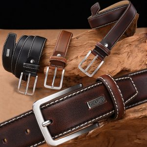 Fashion Men Belts Leather Waist Belt