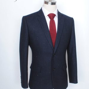 Custom Made Woolen Tweed Suit