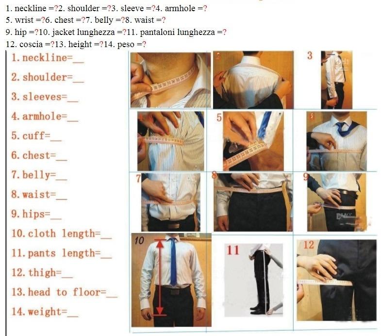 Blazer Size Guide