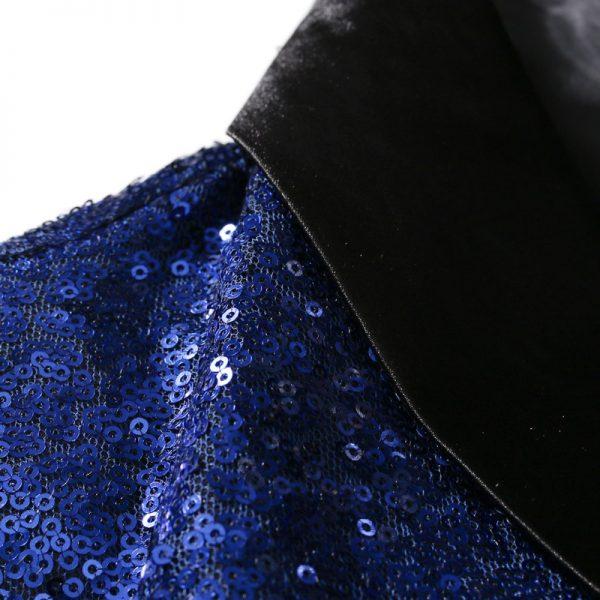 Shiny Sequin Bling Glitter Suits Blazer