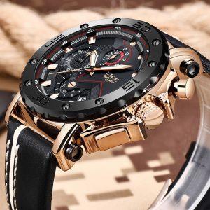 Men Watches Luxury Military Quartz