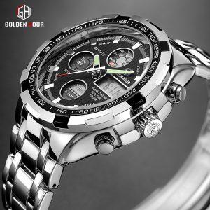 Military Sport Watches Digital Quartz
