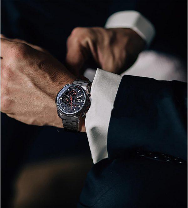 Three Dial Automatic Wrist Watch