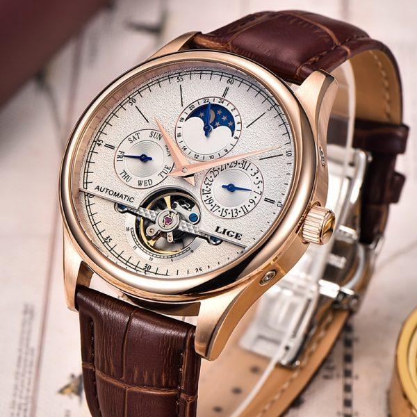 Men Retro Watches Mechanical Watch