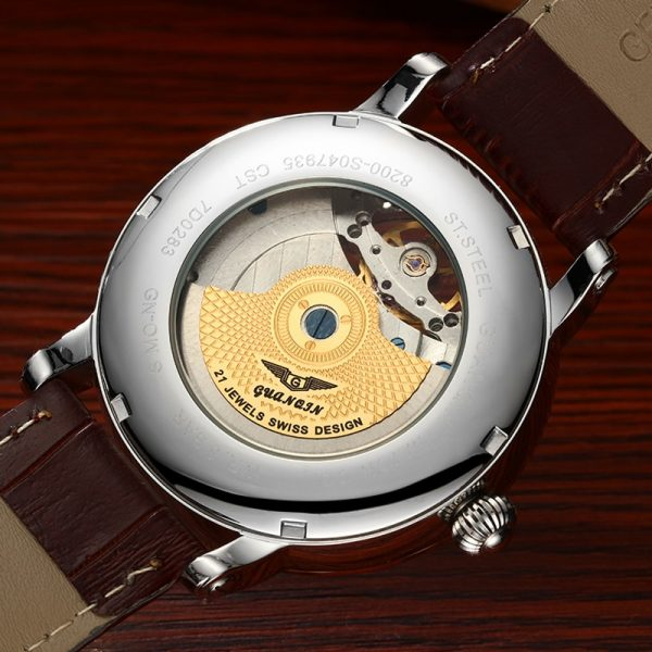 Fashion Watches Luxury Skeleton Watch