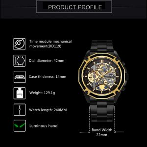 Luxury Auto Mechanical Watch
