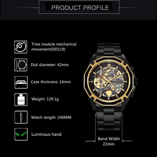 Luxury Auto Mechanical Watch