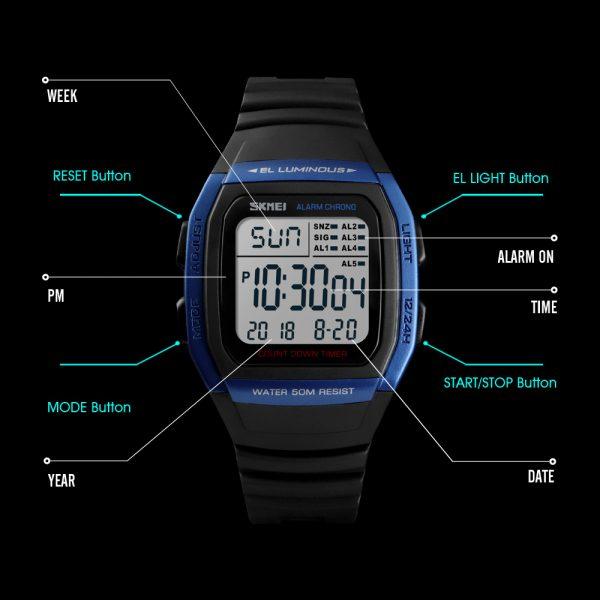 Fashion Watches Sports Digital Watch