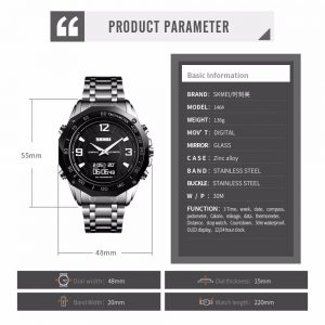 Digital Watch Compass Sport Watches