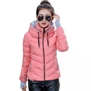 Winter Jacket Short Ladies Coat