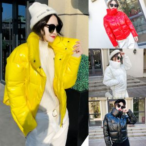 Winter Down Cotton Padded Jacket