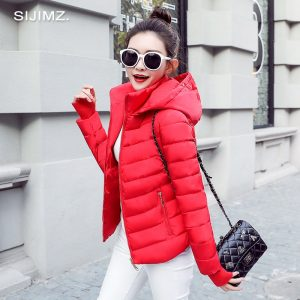 Winter Jacket Women Parkas Outerwear