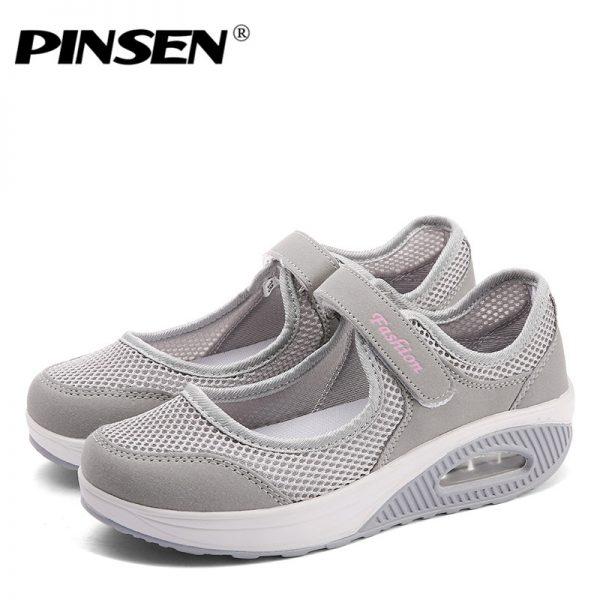 Women Shoes Mesh Casual Shoes
