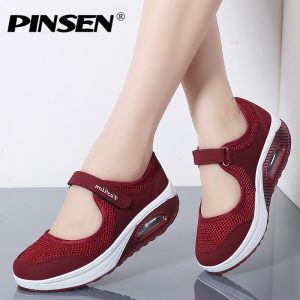 Women Shoes Mesh Casual Shoes