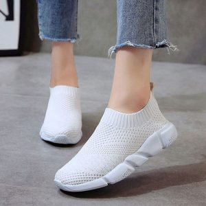 Women Shoes Flyknit Sneakers