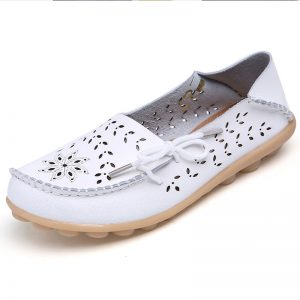 Women Flats Shoes Leather Flats