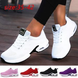 Casual Mesh Sneakers Women Flat