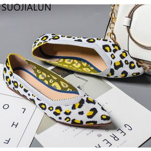 Leopard Print Women Shoes