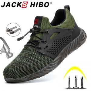 Safety Boots Breathable Work Shoes
