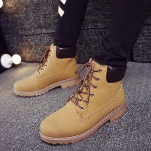 Winter Men Boots British Sneakers
