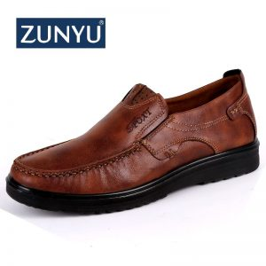 Casual Shoes Fashion Leather Shoes