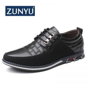 Leather Men Shoes Casual Shoes