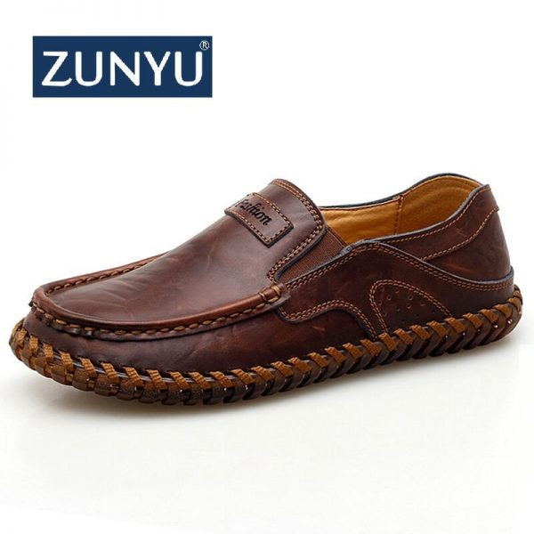 Genuine Leather Shoes Black Shoes