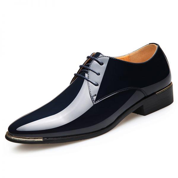 Men's Leather Shoes Wedding Shoes