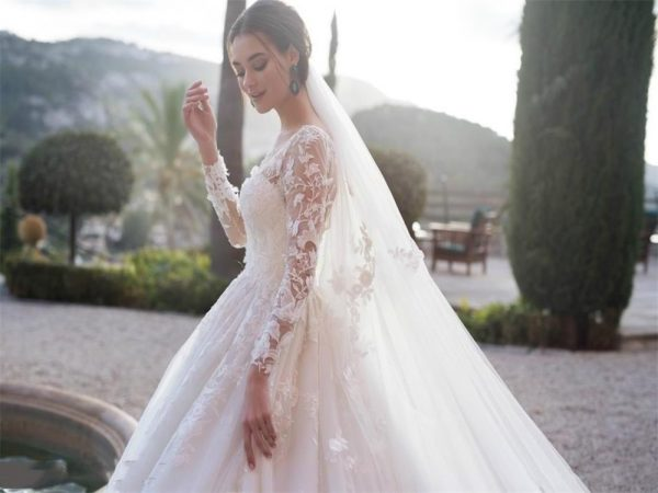 Full Lace Wedding Dresses Bridal Gowns