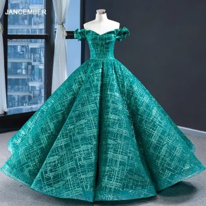 Evening Dress Off Shoulder Ball Gown