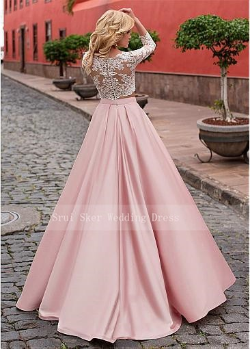 Elegant Two-piece Prom Dresses
