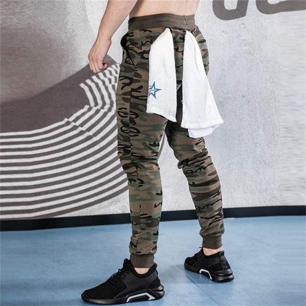 Men's Motion Pants Skinny Sweatpants