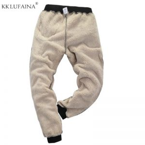 Warm Pants Outside Fleece Joggers