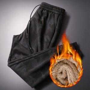 Cashmere Velvet Thicken Pants
