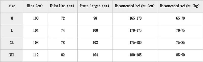 Men Sweatpants Casual Printing Pants