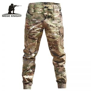Fashion Streetwear Tactical Military Trousers