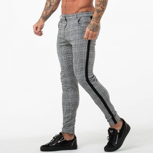 Slim Fit Skinny Pants Chino Trousers