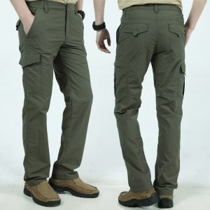 Men Cargo Pants Casual Jogger Sweatpants