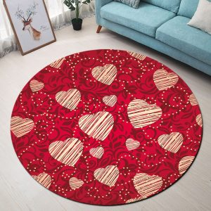 Round Carpets Bedroom Chair Rugs