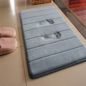 Bathroom Carpet Rug Coral Fleece