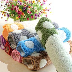 Foot Print Bath Mats Bathroom Carpet